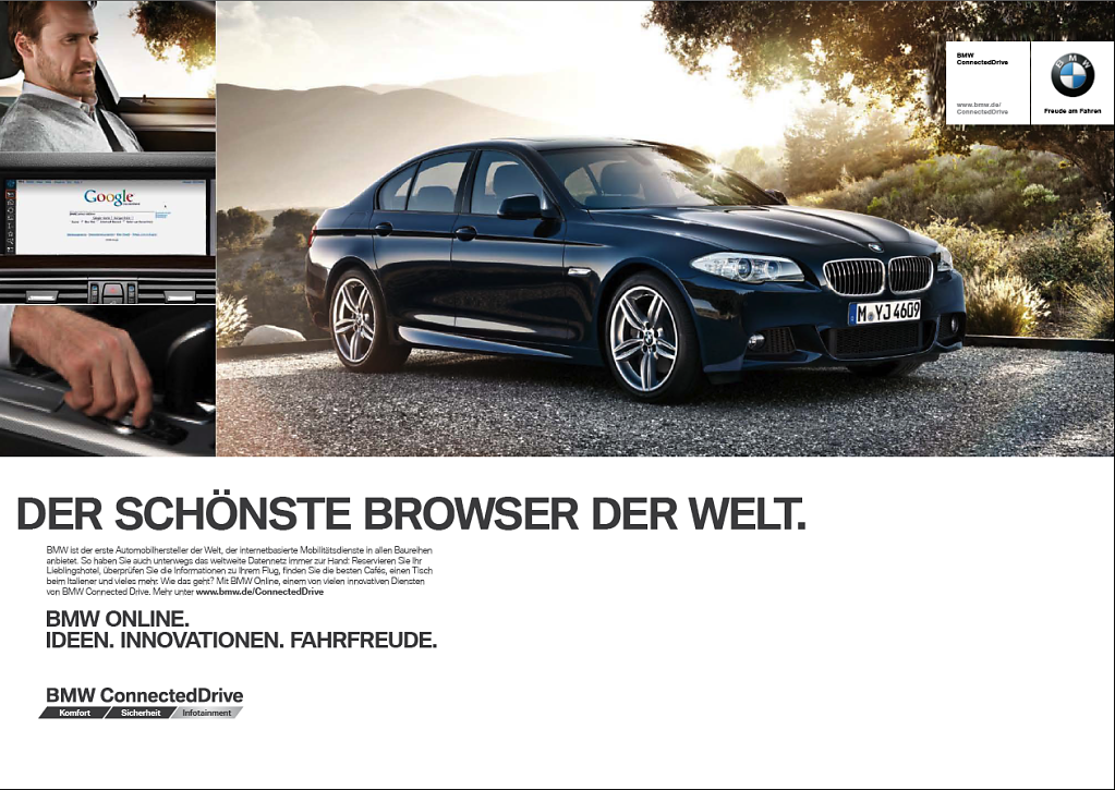 BMW connected drive - Campaign