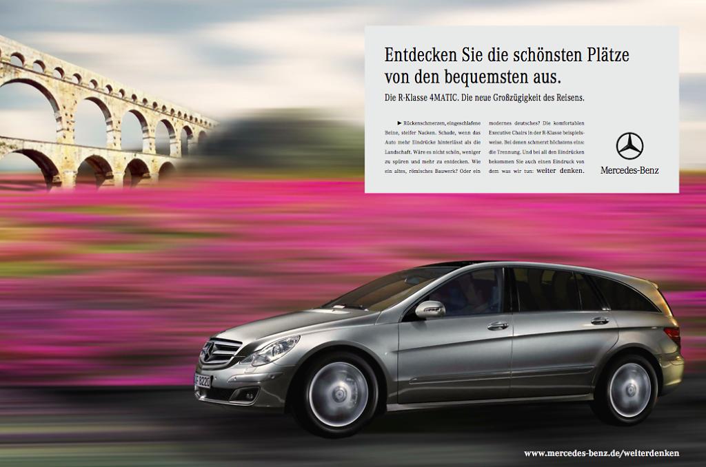 Mercedes R-Class - Campaign