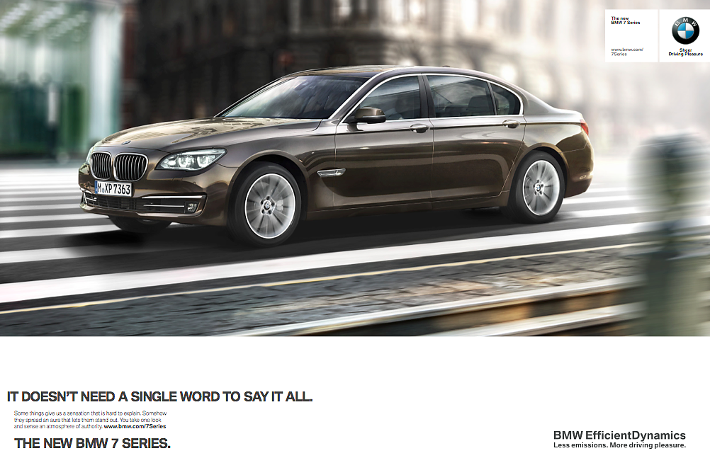 BMW 7series - Campaign