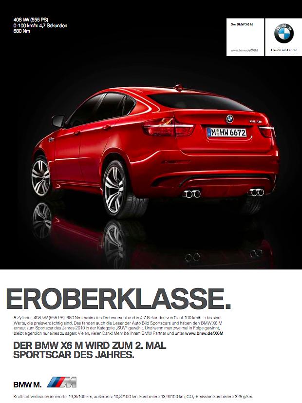 BMW X6 M - GewinnerAZ