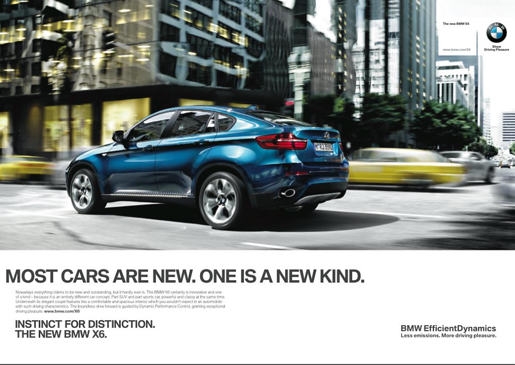 BMW X6 - Campaign