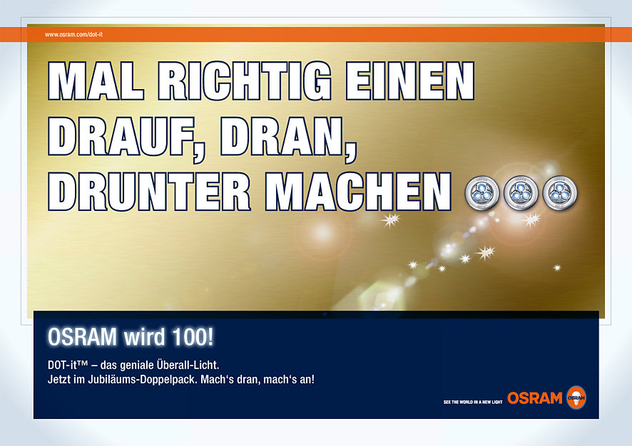 Osram Dot-it - general Ad